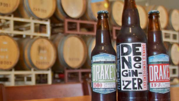 Drake's Craft Beer Labels