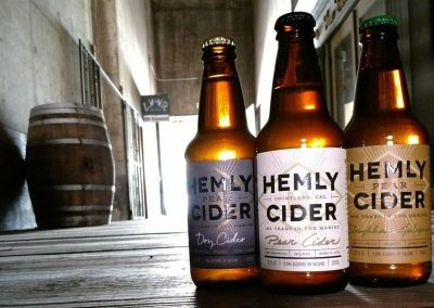 Hemly Cider Labels